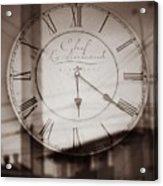 Time Is Infinite Acrylic Print