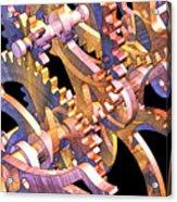 Time Mechanics V1 Acrylic Print by Michael Geraghty