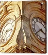 Time On My Side Acrylic Print