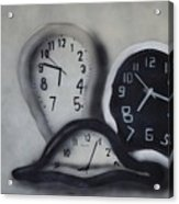 Time Slipping Away Acrylic Print