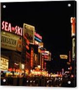 Time Square 1956 Acrylic Print