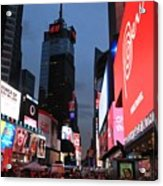 Time Square New York City Acrylic Print