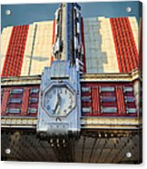 Time Theater Marquee 1938 Acrylic Print