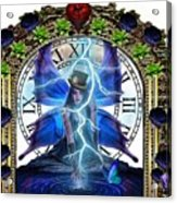 Time Travel Fairy Acrylic Print