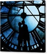 Timeless Love - Midnight Blue Acrylic Print