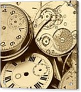 Timepieces Acrylic Print by John Short