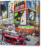 Times Square II Acrylic Print