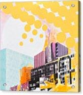 Times Square Milenium Hotel Acrylic Print