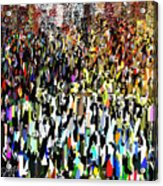 Times Square New Year's Eve Acrylic Print