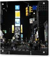 Times Square New York City Big Apple Acrylic Print