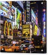 Times Square Pano Acrylic Print