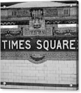 Times Square Station Tablet Acrylic Print