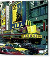 Times Square Visitors Center Acrylic Print