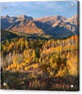 Timpanogos Autumn Sunrise Acrylic Print