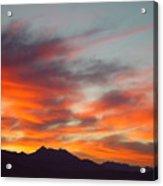 Timponogos Sunrise Acrylic Print