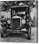 Tin Lizzy - Ford Model T Acrylic Print by Bill Cannon