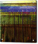 Tin Roofs Acrylic Print