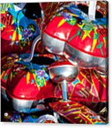 Tin Toys Acrylic Print by Andy Smy