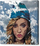 Tinashe Acrylic Print