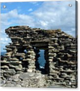 Tintagel Castle 3 Acrylic Print