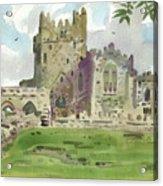 Tintern Abbey 1 Acrylic Print