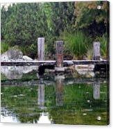 Tiny Dock Acrylic Print