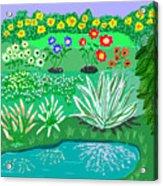 Tiny Garden  Acrylic Print
