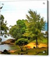 Tioman Island Beach Acrylic Print