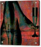 Tipsy Turvey Acrylic Print