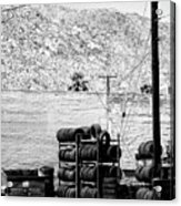 Tire Center Acrylic Print