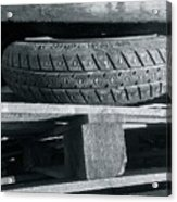 Tires Acrylic Print