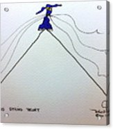 Tis String Theory Acrylic Print