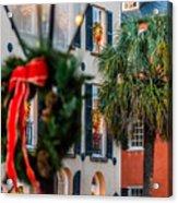Tis The Season - Charleston Sc Acrylic Print