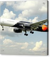 Titan Airways Boeing 757 Acrylic Print