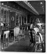 Titanic: Parisian Cafe, 1912 Acrylic Print