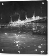 Titanic: Re-creation, 1912 Acrylic Print by Granger