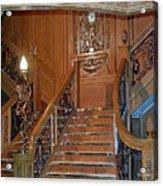 Titanics Grand Staircase Acrylic Print
