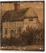 Title A Cottage Acrylic Print
