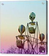 Tivoli Balloon Ride Acrylic Print