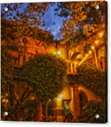 Tlaquepaque Evening Acrylic Print