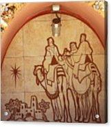 To Bethlehem Acrylic Print