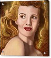 To Rita Hayworth Acrylic Print