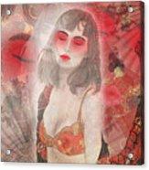 To Tell You A Geisha's Story. Acrylic Print