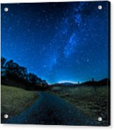 To The Milky Way Acrylic Print