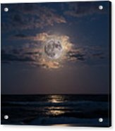 To The Moon And Back Acrylic Print