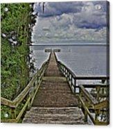 A Walk To The Sea Acrylic Print