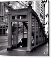 To The Subway - 2 Acrylic Print
