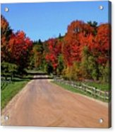 To Where Does The Road Lead Acrylic Print