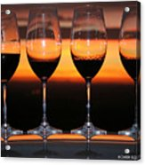 Toast At Sunset Photograph Acrylic Print