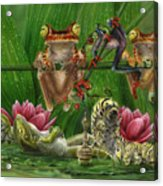 Toasted Frogs Acrylic Print
